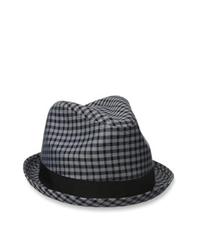 Original Penguin Men's Dark Check Porkpie Hat