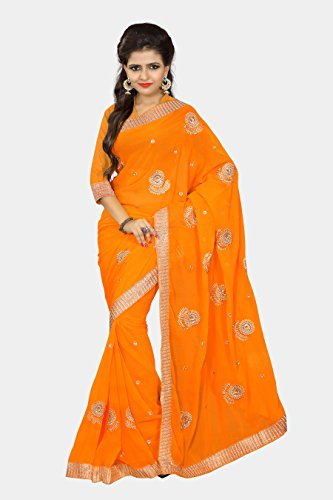 Chirag Sarees Designer Partywear Bridal Marriage Collection 395-YELLOW