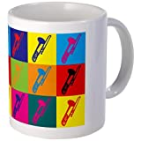 CafePress Trombone Pop Art Mug-Standard