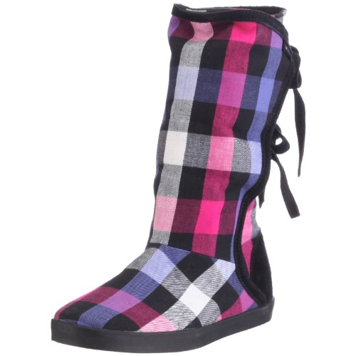 Reef Women's Vagabond 2 Mid Calf Boot Purple Plaid R8190PUL 3 UK