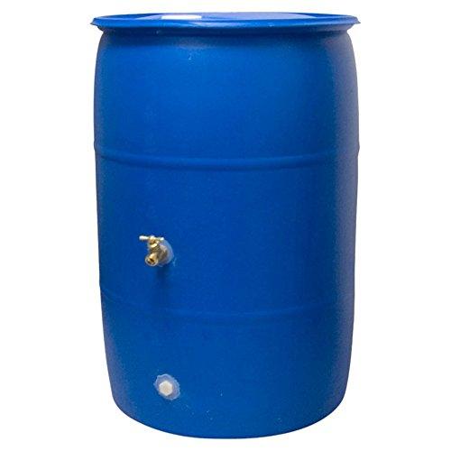 Good-Ideas-Recycled-Big-Blue-Plastic-Rain-Barrel