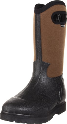 Bogs Men's Roper Boot,Black/Brown,11 M