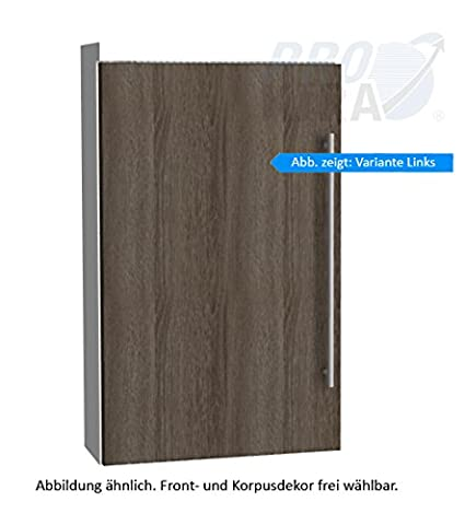 Simple Classic Line Wall Cabinet (OGA414A7L/R) Bathroom, 40cm