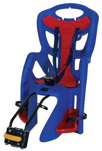 Bellelli Pepe Standard Fit Baby Carrier (Blue/Red, 50-Pound)