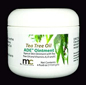 Miracle Coat Tea Tree Skin Care Ointment 4-Ounce