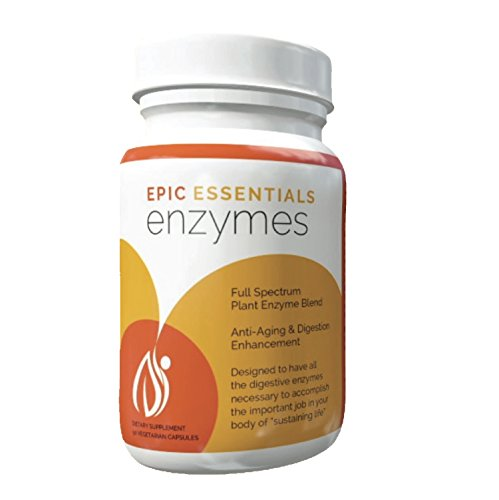 Epic Essentials Enzymes 90 Count Vegetarian Capsule