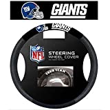 NFL New York Giants Poly-Suede Steering Wheel Cover