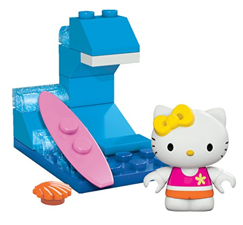 Mega Bloks Hello Kitty Surfing Mimmy Toy Figure - 1
