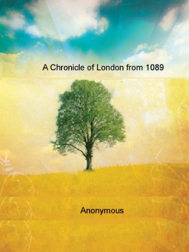 A Chronicle of London from 1089