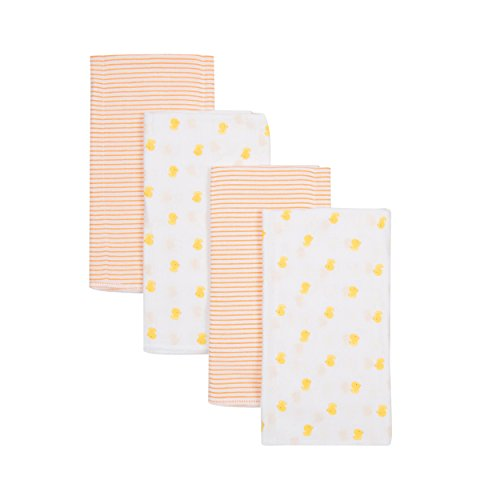 Gerber Prefold Guaze Diaper, Ducks & Stripes, 4 Count