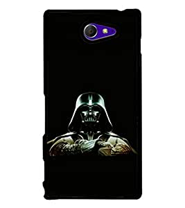 printtech Army Masked Man Back Case Cover for Sony Xperia M2 Dual D2302 , Sony Xperia M2