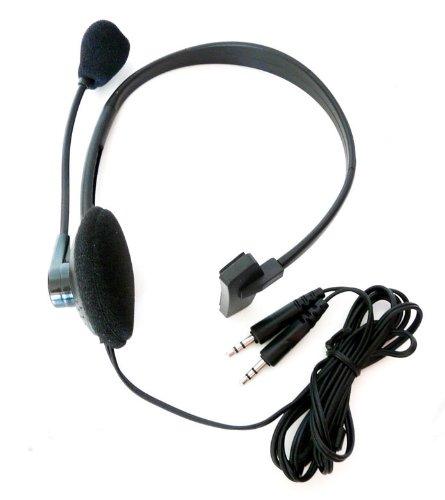 Headset Headphone mit Kopfhörer und Mikrofon für Skype PC Laptop voip (YD1208)