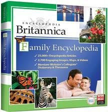 Encyclopedia Britannica Family Encyclopedia (Jewel Case)