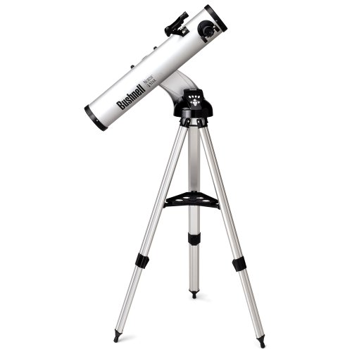 "Bushnell Northstar 4.5"" Talking Reflector Telescope-Outdoor 