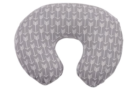 danha-nursing-pillow-slipcover-grey-arrow