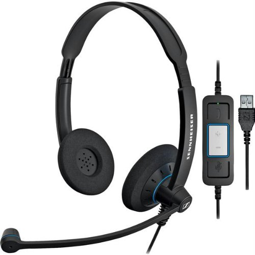 Sennheiser Culture Series Wideband Headset (Sc60-Usb-Ctrl)