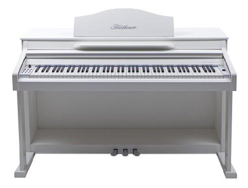 Blüthner e-Klavier Modell 1 foliert matt weiß