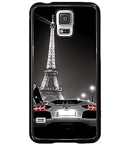 Printvisa Convertible At Eifel Tower Back Case Cover for Samsung Galaxy S5 Mini::Samsung Galaxy S5 Mini G800F