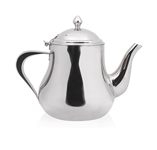 Bama Carafe de thé - pichet de thé - Oasis - Inox (2 Litre)