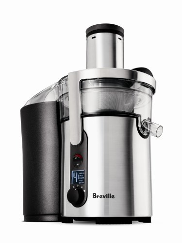 Read About Breville BJE510XL Juice Fountain Multi-Speed 900-Watt Juicer