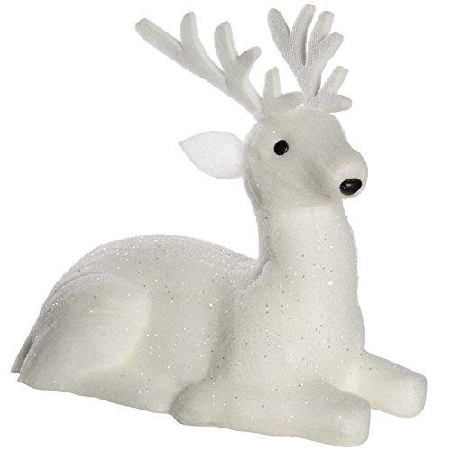 werchristmas-figura-decorativa-de-reno-sentado-polialgodon-40-cm-color-blanco
