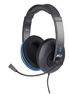 Turtle Beach Ear Force P12 Amplified Stereo Gaming Headset for PlayStation 4, PS Vita, and Mobile Devices - FFP