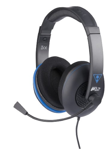 Get Turtle Beach Ear Force P12 Amplified Stereo Gaming Headset for PlayStation 4, PlayStation Vita, and Mobile Devices (TBS-3250-01)
