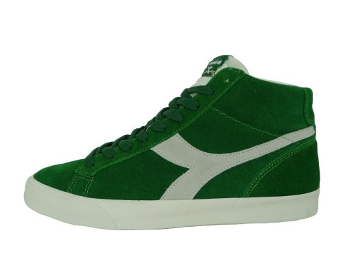 DIADORA scarpe uomo alte - sneakers in camoscio - art. 270 S H (amazon green) (EUR 45.5 - UK 11)