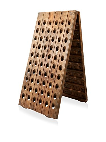 Blue Ocean Traders Wine Rack, Brown