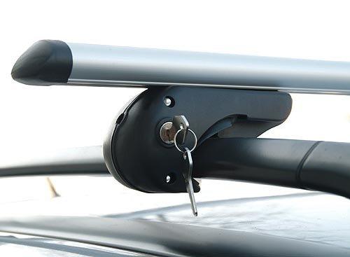 Brio Alu Dachträger Relingträger 120 cm bis 90 kg