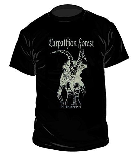 Carpathian Forest-Inverted Cross-Maglietta Schwarz Taglia unica