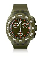 Swatch Reloj de cuarzo Man GREEN HERO SUIG401 42 mm