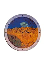 Artopweb Reloj De Pared Van Gogh Weatfield With Crows