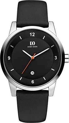 Danish Design - IQ13Q1084 - Montre Mixte - Quartz - Analogique - Bracelet cuir noir