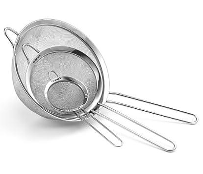 Cuisinart CTG-00-3MS Mesh Strainers, Set of 3