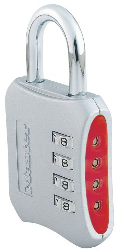 Master Lock 653D Set-Your-Own-Combination 2-Inch Padlock, 1-Pack - Colors May Vary