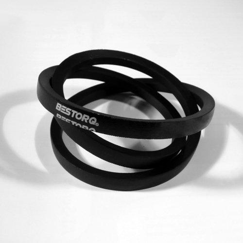 "BESTORQ A31 or 4L330 Rubber V-Belt, Wrapped, Black, 33"" Length x 0.5"" Width x 0.32"" Height"