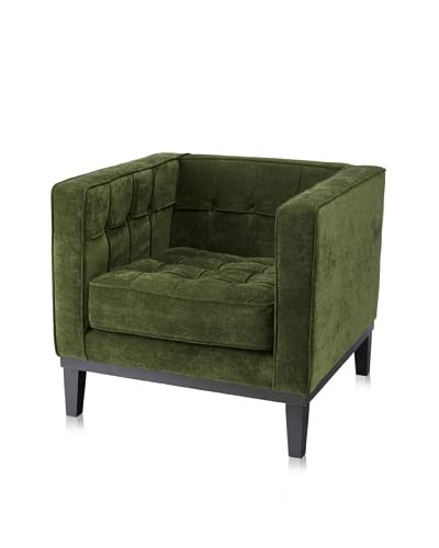 Armen Living Roxbury Tufted Arm Chair