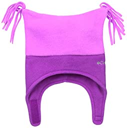 Columbia Baby-Girls Infant Pigtail Hat, Foxglove/Bright Plum, 18-24 Months