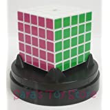 Eastsheen White 5x5x5 Magic Rubik's Cube - with plastic dome stand