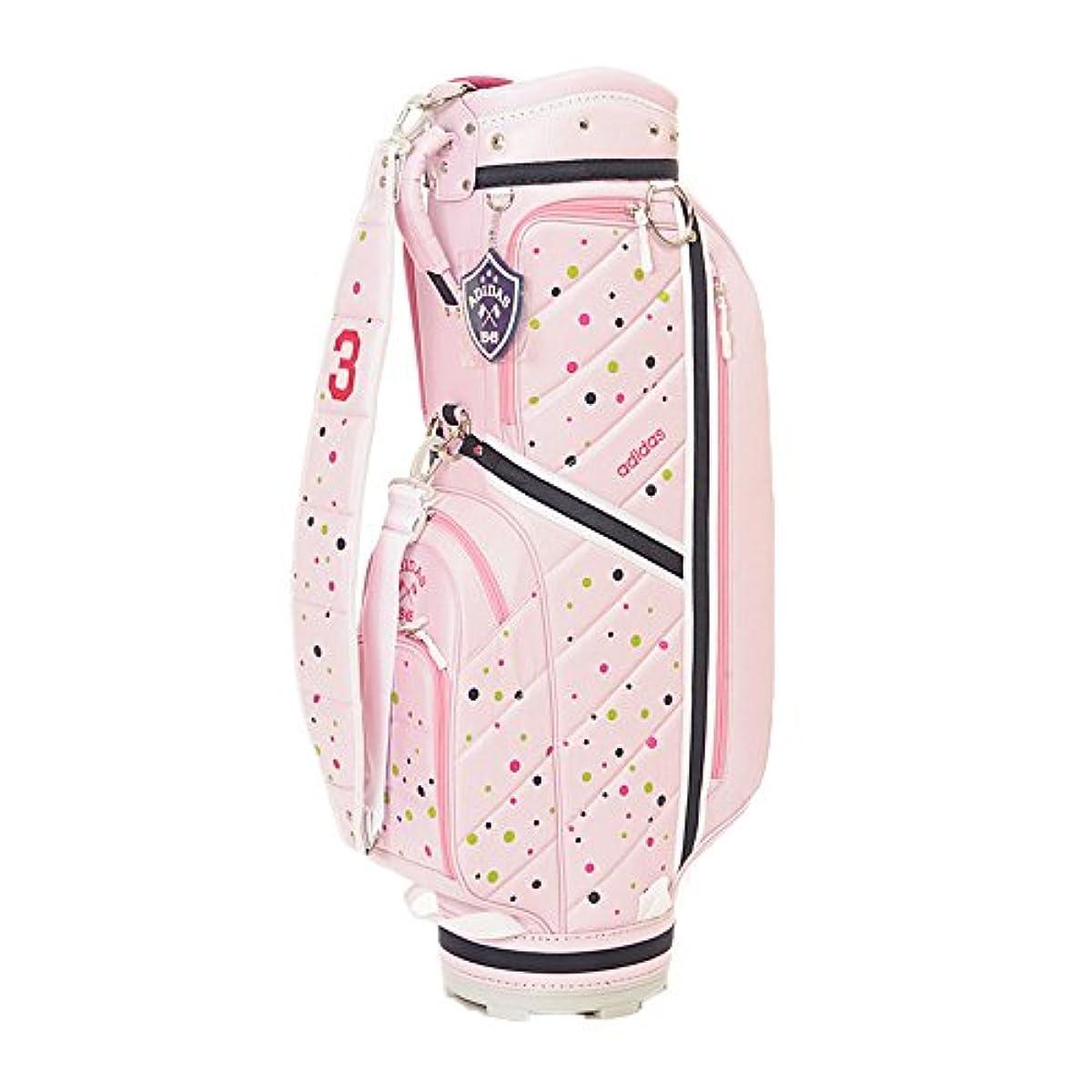[해외] adidas Golf(아디다스 골프) AWS10 women's ADICROSS 캐디 백3 레이디스 AWS10 A15936:핑크 8.5타입 46인치 대응 (2015-12-11)