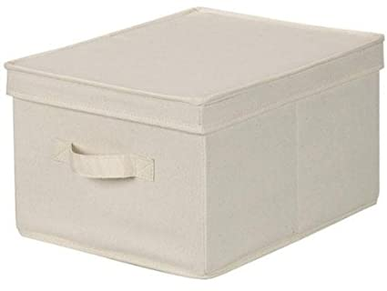 Large Canvas Storage Boxes Canvas Storage Box With Lid