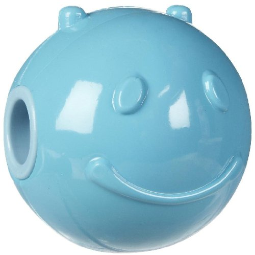 Dura Doggie Nebo Treat Dispensing Ball Dog Toy - Blue Small