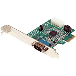 Startech.Com 1 Port Native Pci Express Rs232 Serial Adapter Card With 16950 Uart . 1 X 9. Pin Db. 9 Male Rs. 232 \
