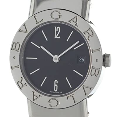 Bvlgari Tubogas BB262TS Swiss Quartz Ladies Stainless Steel Bangle Watch