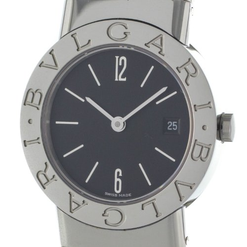 Bvlgari Tubogas BB262TS Swiss Quartz Ladies Stainless Steel Bangle Watch