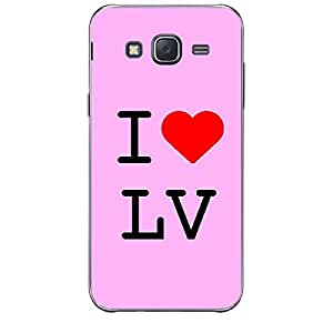 Skin4gadgets I love Las Vegas - LV Colour - Light Pink Phone Skin for SAMSUNG GALAXY J2