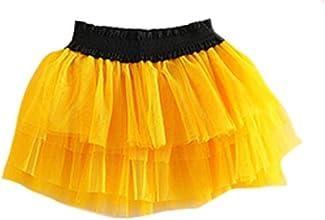 NQ Little Girl Cute Layer Yarn Dress Tutu Princess Skirt 20Colors