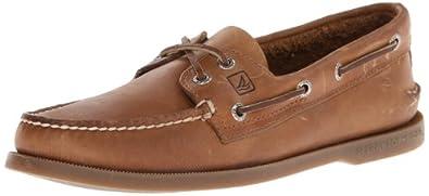 Sperry Top-Sider Men's A/O 2-Eye Boat Shoe,Sahara,9.5 S US