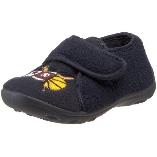 Ragg Kids' Rookie Hook-And-Loop Shoe,Navy,1 M Us Little Kid front-652995